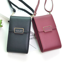 US $7.45 22% OFF|2019 New Women Leather Wallet Fashion Phone Messenger Bag Hasp Zipper Coin Card Crossbody Bags Lady Daily Use Big Capacity Purse-in Top-Handle Bags from Luggage & Bags on Aliexpress.com | Alibaba Group