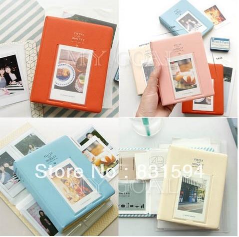 64 poches Album Case stockage pour Photo FujiFilm Instax Mini Film taille ec871a114ffb