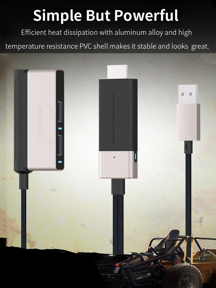 Contrôleur de manette de jeux PUBG Mobile convertisseur de clavier de souris 4 K 60Hz adaptateur Bluetooth pour téléphone Android IOS vers moniteur PC TV