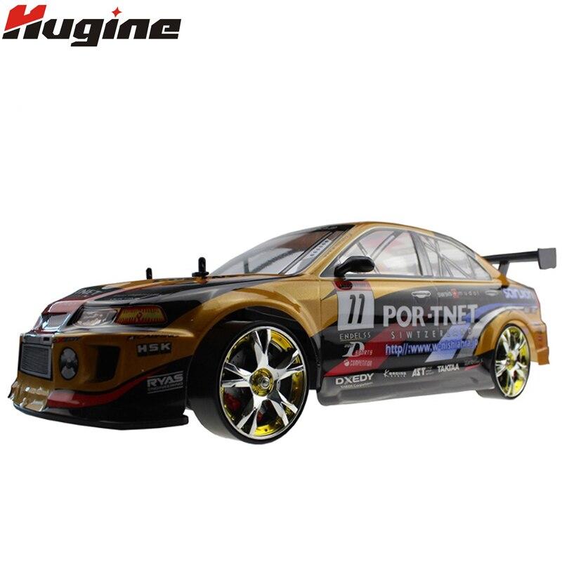 Grand RC Voiture 1:10 Haute Vitesse voiture de course Pour Mitsubishi Championnat 2.4G 4WD Radio Control Sport Drift Racing jouet électronique