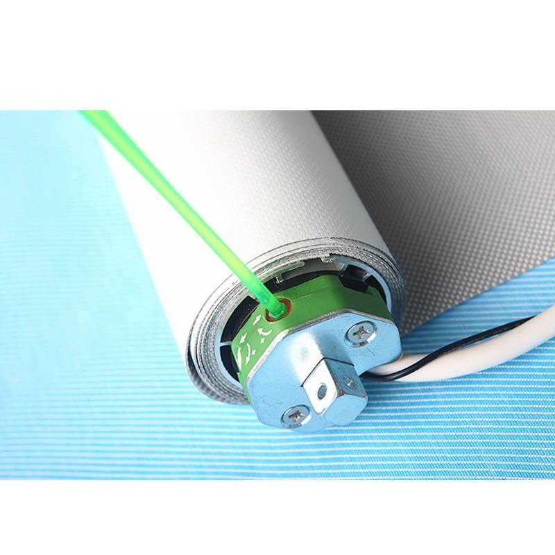 Купить с кэшбэком Ewelink 2m Width Elecric Customizable Roller Blinds System with Dooya Tubular Motor DM35S/35R without Fabric for Smart Home
