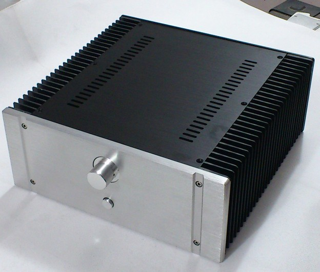 DIY amp case size:320*130*311mm all aluminum amplifier chassis / Class A amplifier case / AMP Enclosure /AMP case / DIY box wf1185 aluminum enclosure class a hifi amplifier chassis preamp case audio amp box luxury cabinet 435 155 392mm
