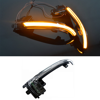 Car-styling LED Flowing Rear View Dynamic Sequential MIRROR Turn Signal Light for Audi A4 B8.5 A5 2010-2016 Auto Accessories