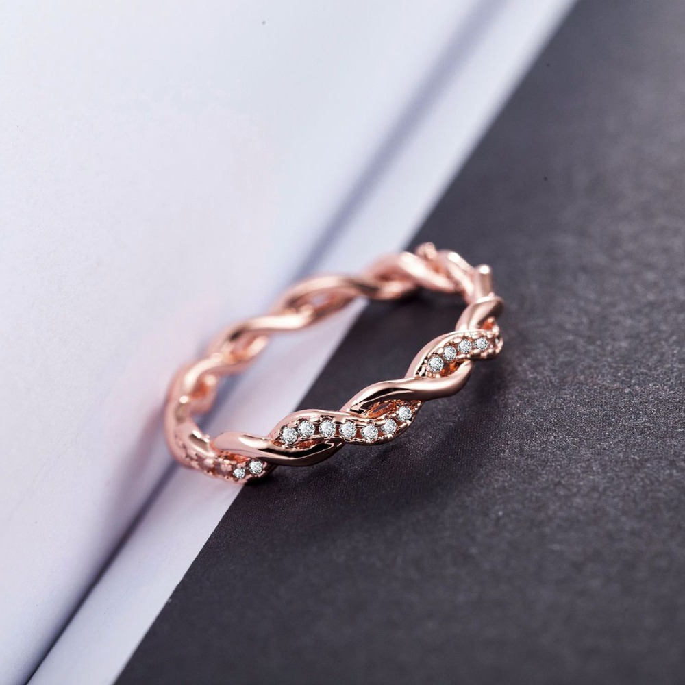 Simple Cubic Zirconia Finger Rings For Women Men Korean Cross Thin Ring Bague For Wedding Jewelry Anillos Bijoux Big Size Gifts