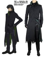 Darker than Black Hei Windbreaker Cosplay Costume Custom Made