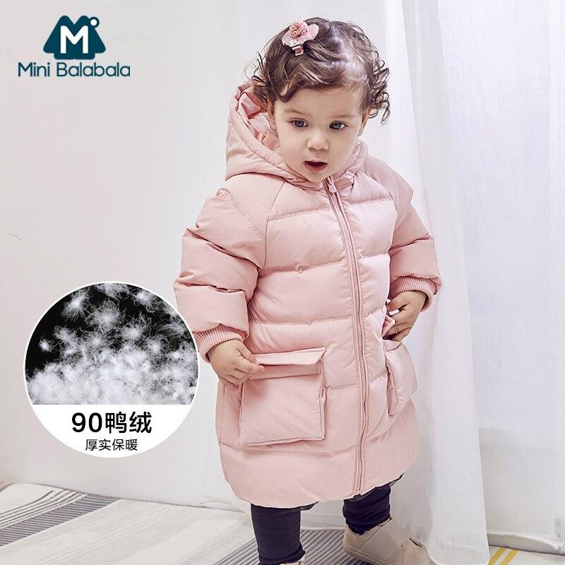 Down Jacket For Girl Boys Winter Warm Hooded Coat Long Sleeve Baby Toddler Boys Jacket Kids