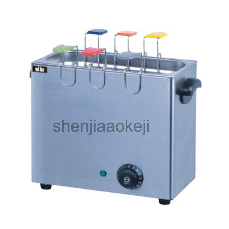 1 pc Commercial oeuf cuiseur ménage électrique oeufs durs machine acier inoxydable 6 grille cuisson oeufs chaudière avec snack shop 220 V