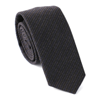 Fashion Mens Plaid Skinny Wool Neckie  Wool Woven Jacquard Necktie Business Wedding Dress Tie Men Formal Neckwear Accessories