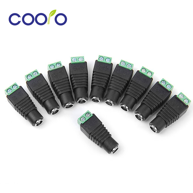 5pcs/lot Power Jack Connector, Female DC Adapter, Transposon For LED Strip, DC Female Adapter, DC Transformer