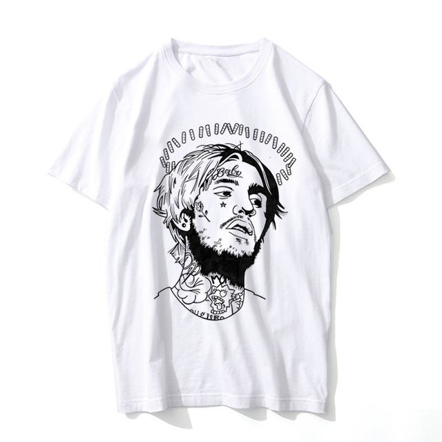 lil peep T Shirt Men Summer Graphic Tees rap rapper t-shirt Male hip-hop hiphop hip hop lil peep T tShirt