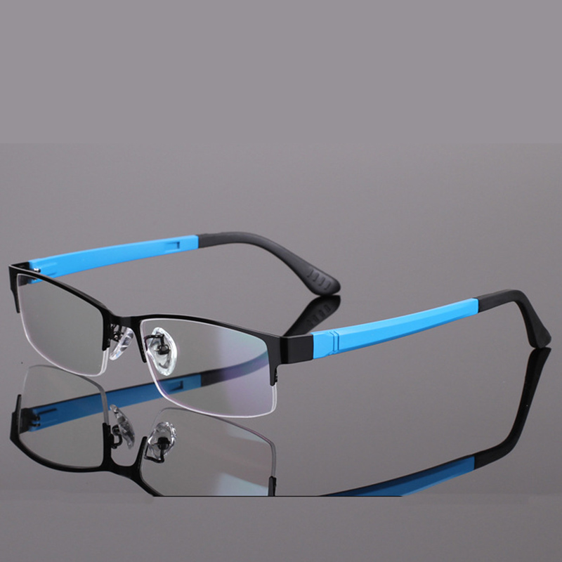 BELMON Spectacle Frame Eyeglasses Men Computer Optical Eye Glasses For Male Transparent Clear Lens Armacao 0 de grau RS301 in Men 39 s Eyewear Frames from Apparel Accessories