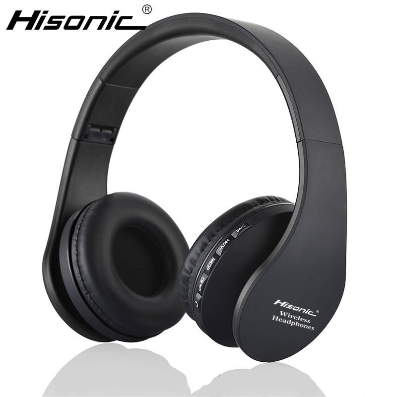 Hisonic bluetooth earphone Wireless Stereo Foldable Earbuds Microphone casque audio auriculares Headset Headphone Earphone 811 h08 bluetooth headset wireless headphone in ear stereo earphone microphone for xiaomi lg iphone earbuds auriculares ecouteur