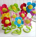 Venda quente 8 pçs/lote 30 CM Corlorful Plush cortina girassol decoração flores presentes para amantes Stage propriedade