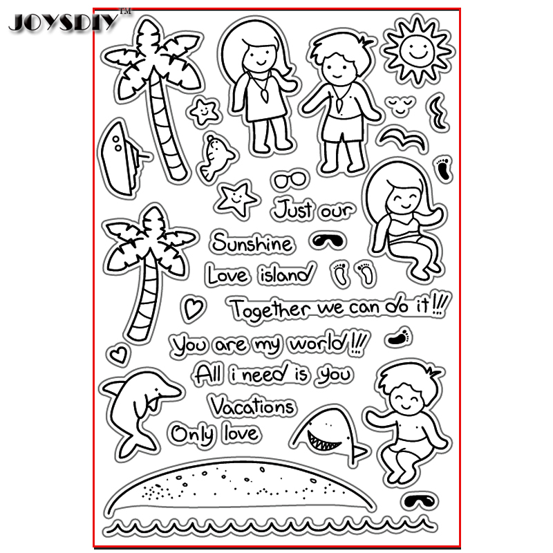 LOVE ISLAND TOGETHER I CAN DO Scrapbook DIY photo cards account rubber stamp clear stamp transparent stamp Handmade card stamp you can shine got bot all boy scrapbook diy photo cards account rubber stamp clear stamp transparent stamp handmade card stamp