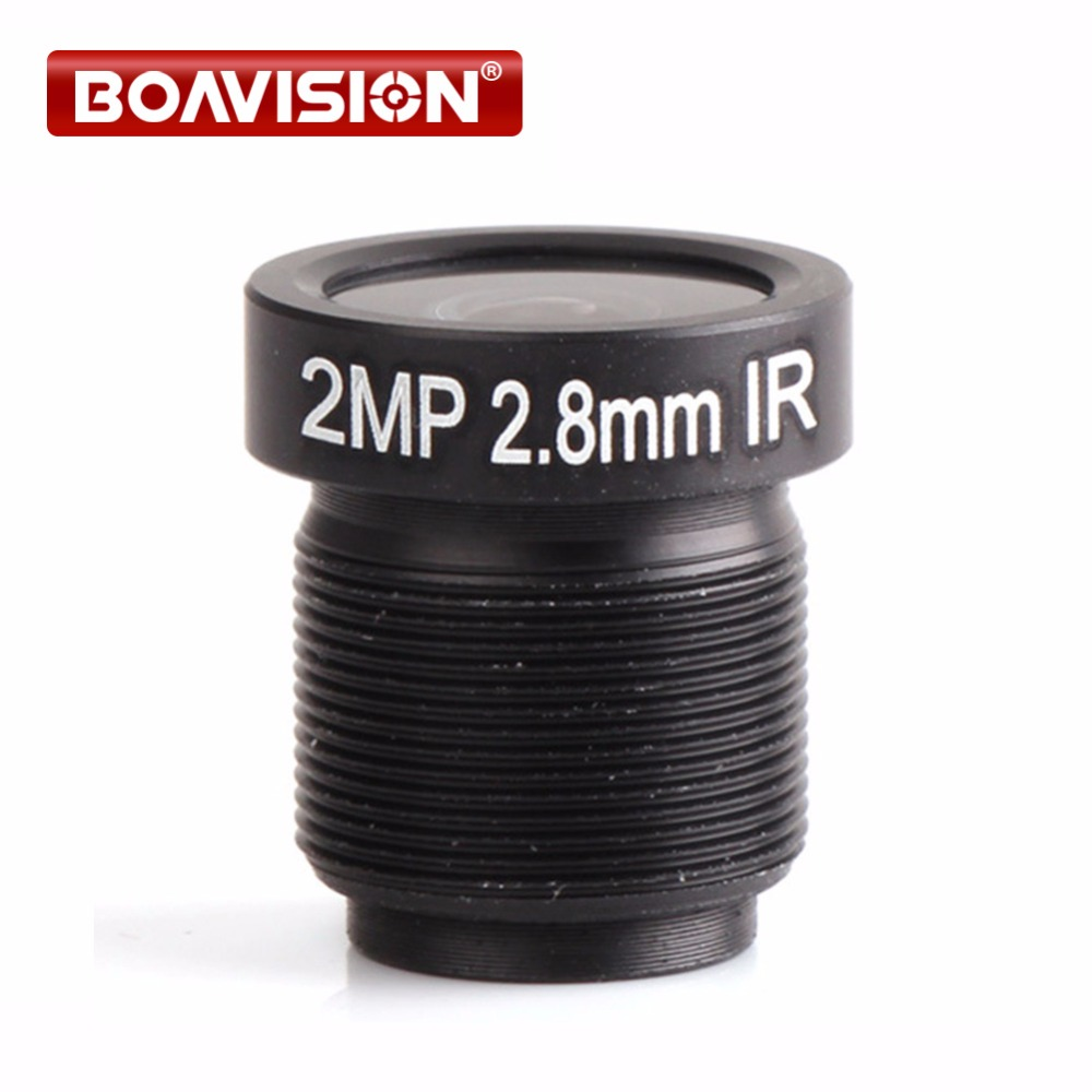 1/3 M12 F2.56 2.0 Megapixels CCTV Camera Lens 2.8mm 89.7 Degrees Wide Angle Lens For HD 1080P/720P IP CCTV Camera hd 3mp 3 6mm 92 degrees wide angle cctv ir board lens 3 0mp ip lense m12 for 1 3 and 1 4 ccd camera