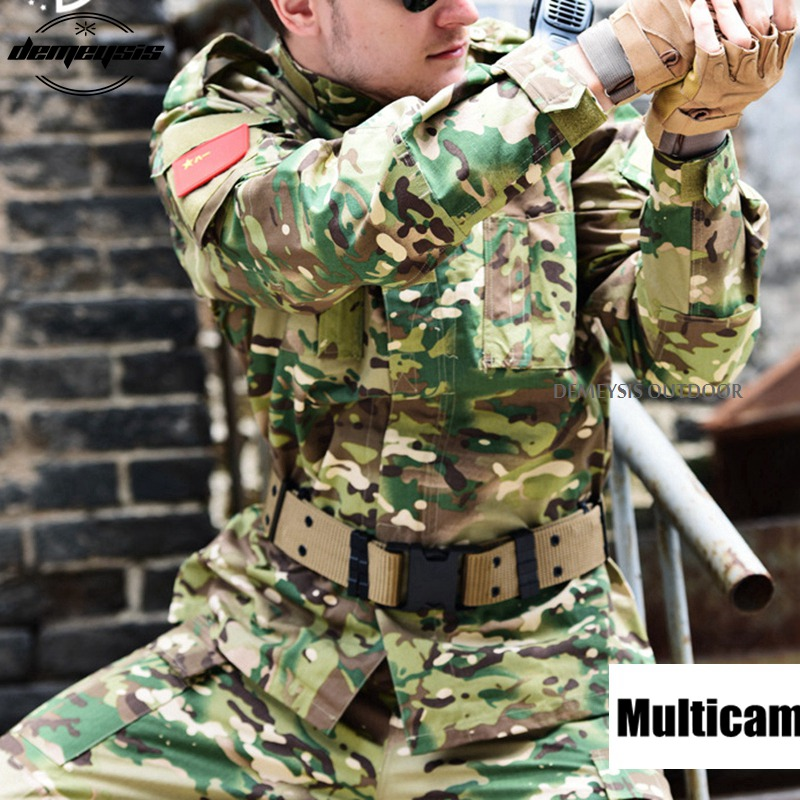 Multicam Military Uniform Camouflage Suit Tatico Tactical Military Camouflage Airsoft Paintball Equipment ClothesMulticam Military Uniform Camouflage Suit Tatico Tactical Military Camouflage Airsoft Paintball Equipment Clothes