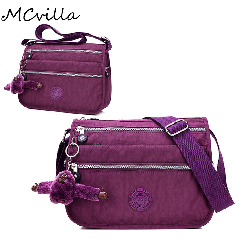 New Nylon Women Messenger Bag Fashion Women Bags Shoulder Crossbody Bags Waterproof Ladies Handbags School Bag