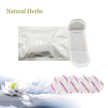15Pcs Chinese herbal Pad Swabs Feminine Hygiene Product Women Health Medicated Anion Pads Women Care Gynecological Pad Strip