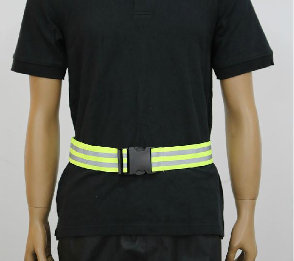 Reflective straps riding belt Reflective vest elastic ribbon Night riding reflective tape 10 pieces wholesale express reflective elastic webbing belt high visibility heat transfer tape for sports