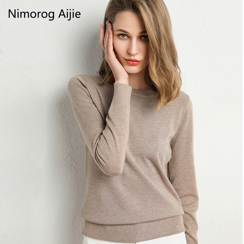 Autumn Winter New Sweater Women Knitted Pullover Women Sweater  Winter Sweaters Plus Size Cashmere Sweater Women Round Neck Tops