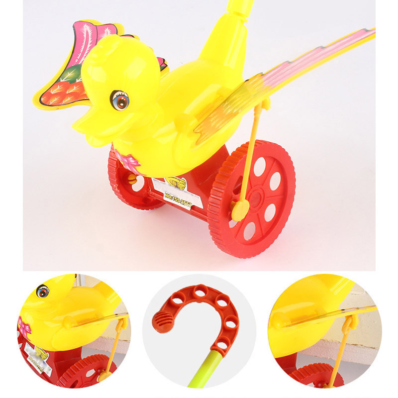 Cartoon Infant Baby Toddler Trolley Toy Bouncer Car Animal Push & Pull Toys NSV775