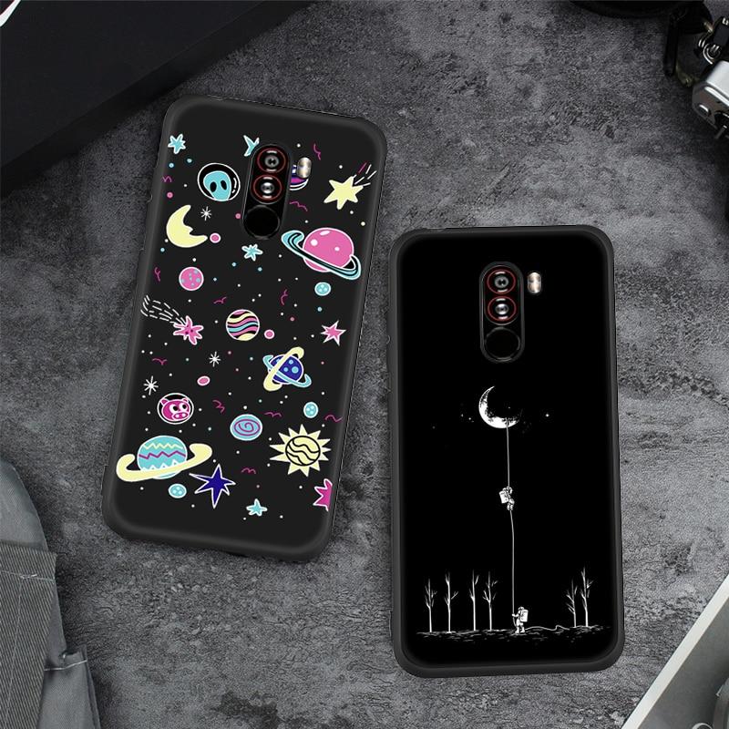 Мягкий силиконовый крашеный чехол для телефона для Xiao mi Pocophone F1 mi 8 mi 6X A2 Lite TPU Red mi 6Pro Note 5 Pro 4X5 плюс Чехол Fundas