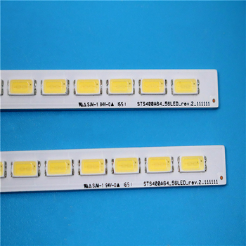 10 Piece 56LED 493MM New LJ64-03514A LED lamp strip 2012SGS40 7030L 56 REV 1.0