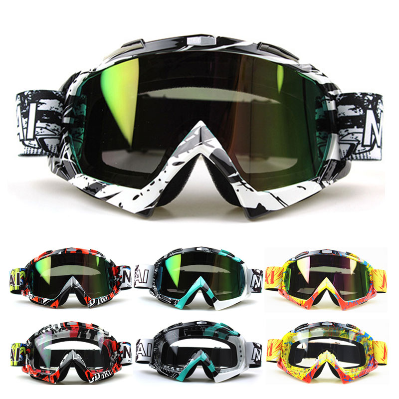 Nuoxintr New High Quality Transparent Sport Racing Off Road Oculos Lunette Motocross Goggles Glasses For Motorcycle Dirt Bike
