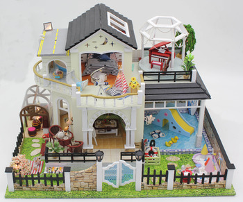 Furniture diy doll house wodden miniatura doll houses furniture kit puzzle handmade dollhouse toys for children.jpg 350x350