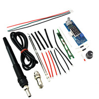 T12 DIY Kits Electric Unit Digital Soldering Iron Station Temperature Controller Kits For HAKKO With LED