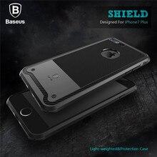 Baseus Ударопрочном Корпусе Для iPhone 7 Plus Гибридный Сенсорный Тонкий Броня чехол Для iPhone 7 Телефон Оболочки Полный Защитная Крышка Принципиально