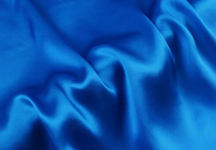 Mill Bleu Duchesse satin tissu