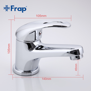 Image 4 - Frap קלאסי סגנון אגן מגופים סיפון רכוב קר וחם מים מיקסר יחיד ידית Torneira F1003
