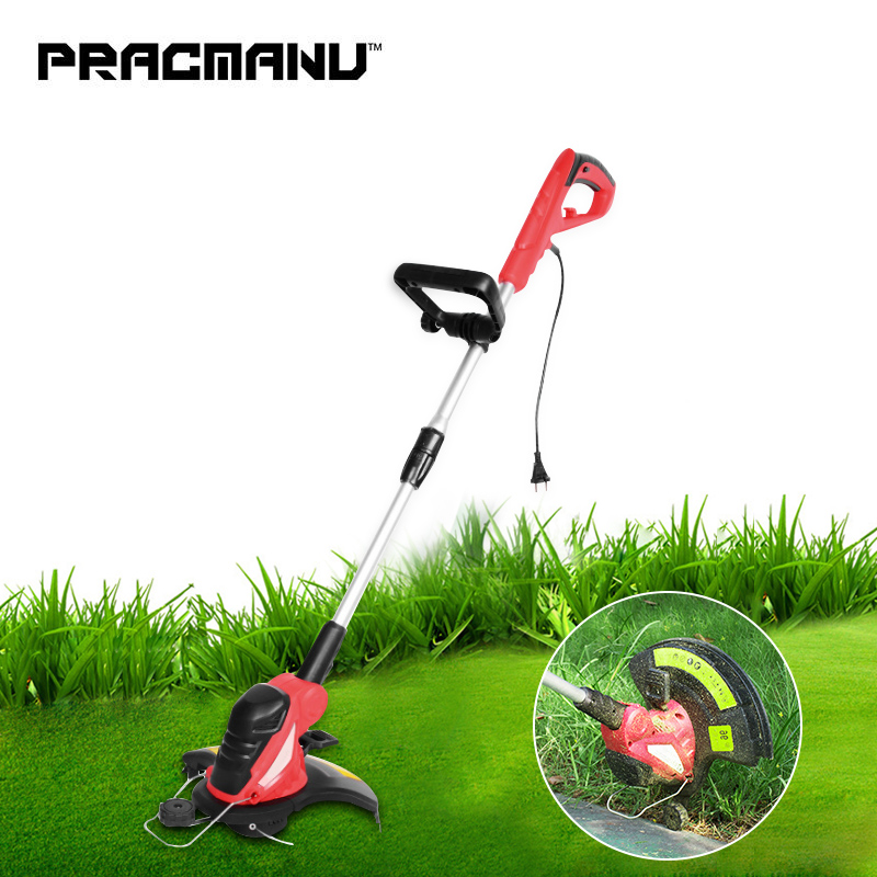 PRACMANU 220V Lawn Mower Electric Grass Trimmer Grass String Trimmer Pruning Cutter Garden Tools