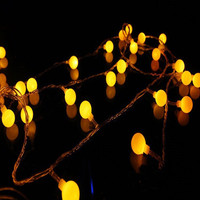 Fairy 10m 100 Leds LED Curtain String Light New Year Christmas Decoration Lamp Wedding Party Chandelier