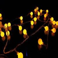 Hadas 10 m 100 led cortina Cadena de luz Año Nuevo Navidad decoración boda lámpara noche luz luminaria