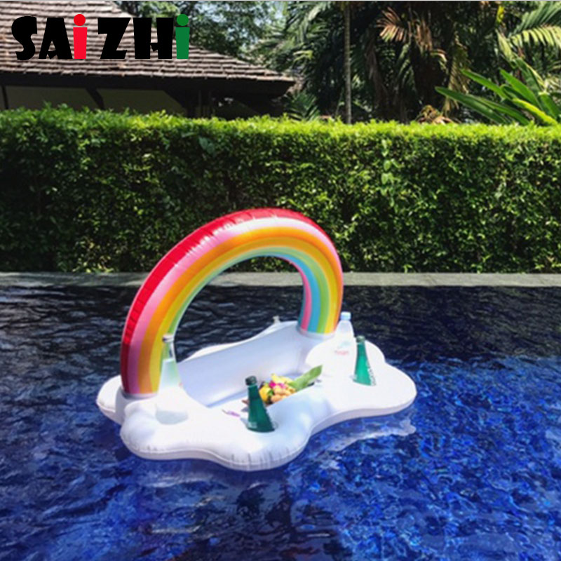 Saizhi 1 Pcs Black white swan Flamingo Cute Water Drink Cup Holder Inflatable Water Coaster Floating Drink Cup Holder SZ0412Saizhi 1 Pcs Black white swan Flamingo Cute Water Drink Cup Holder Inflatable Water Coaster Floating Drink Cup Holder SZ0412