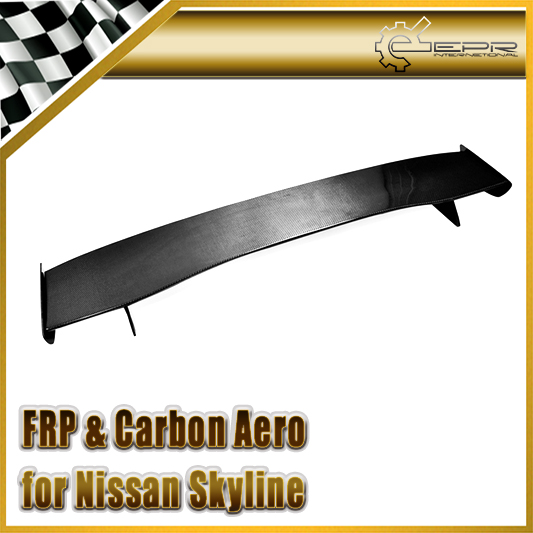 Car-styling For Nissan Skyline R33 GTR Bee-R NIS Style Carbon Fiber GT Spoiler Wing (only fit to GTR Rear Spoiler Base)