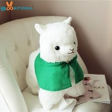35/50cm Japanese Alpacasso Plush Toy Soft Stuffed Animal Sheep Alpaca Kawaii Kids Birthday Gift Doll