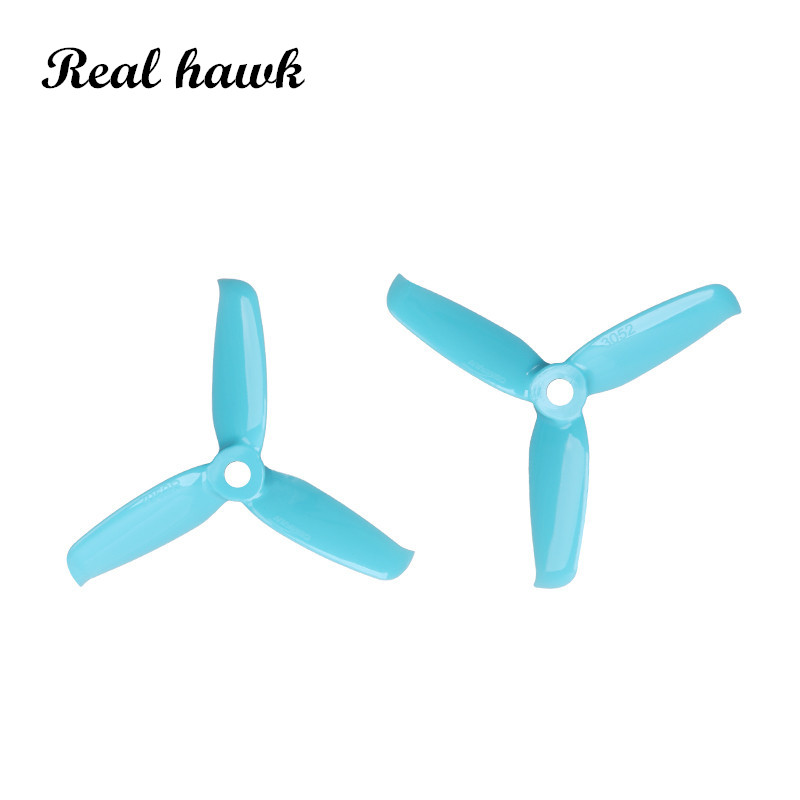 6 colors <font><b>3052</b></font> 3.0x5.2 FPV PC 3 propeller Prop Blade CW CCW shaft through the machine more special motor 1306-1806 image