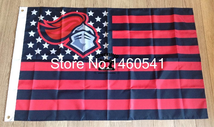 Rutgers Scarlet Knights Stars and Stripes Nation Flag