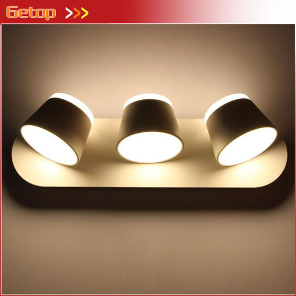 Wall Sconces That Shine Up And Down: Nordic Modern Simple Bedroom Bedside LED Reading Wall Lamp