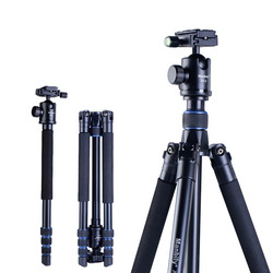 "Camera Tripod Manbily AZ300 60"" Compact Travel Tripod,Lightweight Aluminum Tripod for DSLR Camera with 360° Panorama Ball Head"