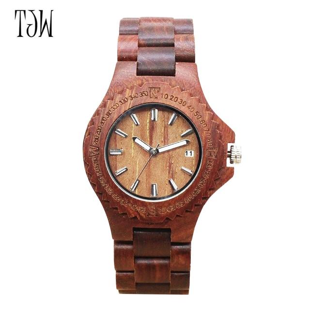787c5d8e5226 Moda naturaleza madera reloj analógico deporte de bambú negro hombres reloj  de madera regalo de las. Sitúa el cursor encima para ...
