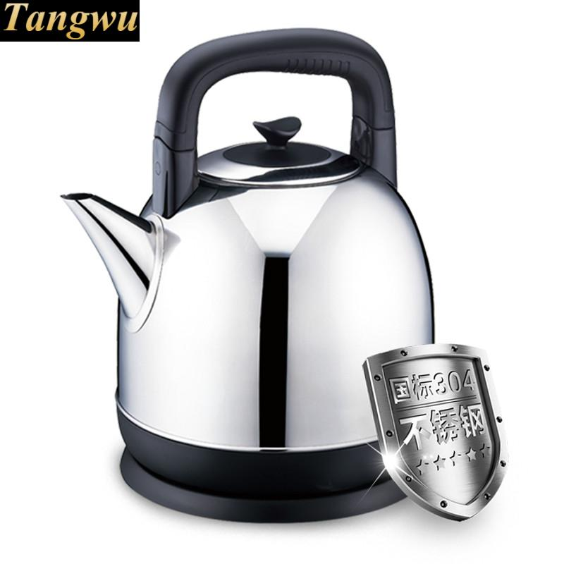 Automatic power failure of stainless steel kettles 4L electric kettle is used for automatic power failure and boiler stainless steel kettles