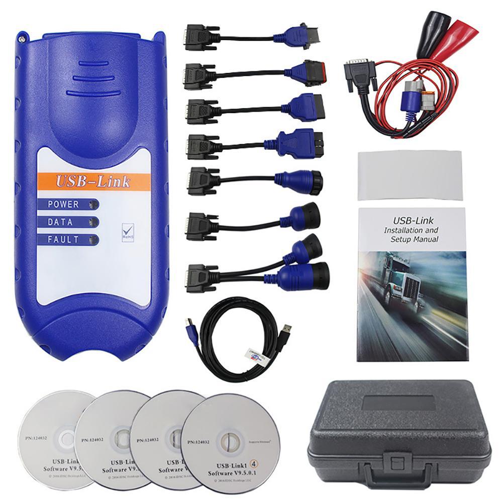 USB Portable voiture défaut diagnostic détecteur outils Set automobile câbles connecteurs voiture Test Instrument