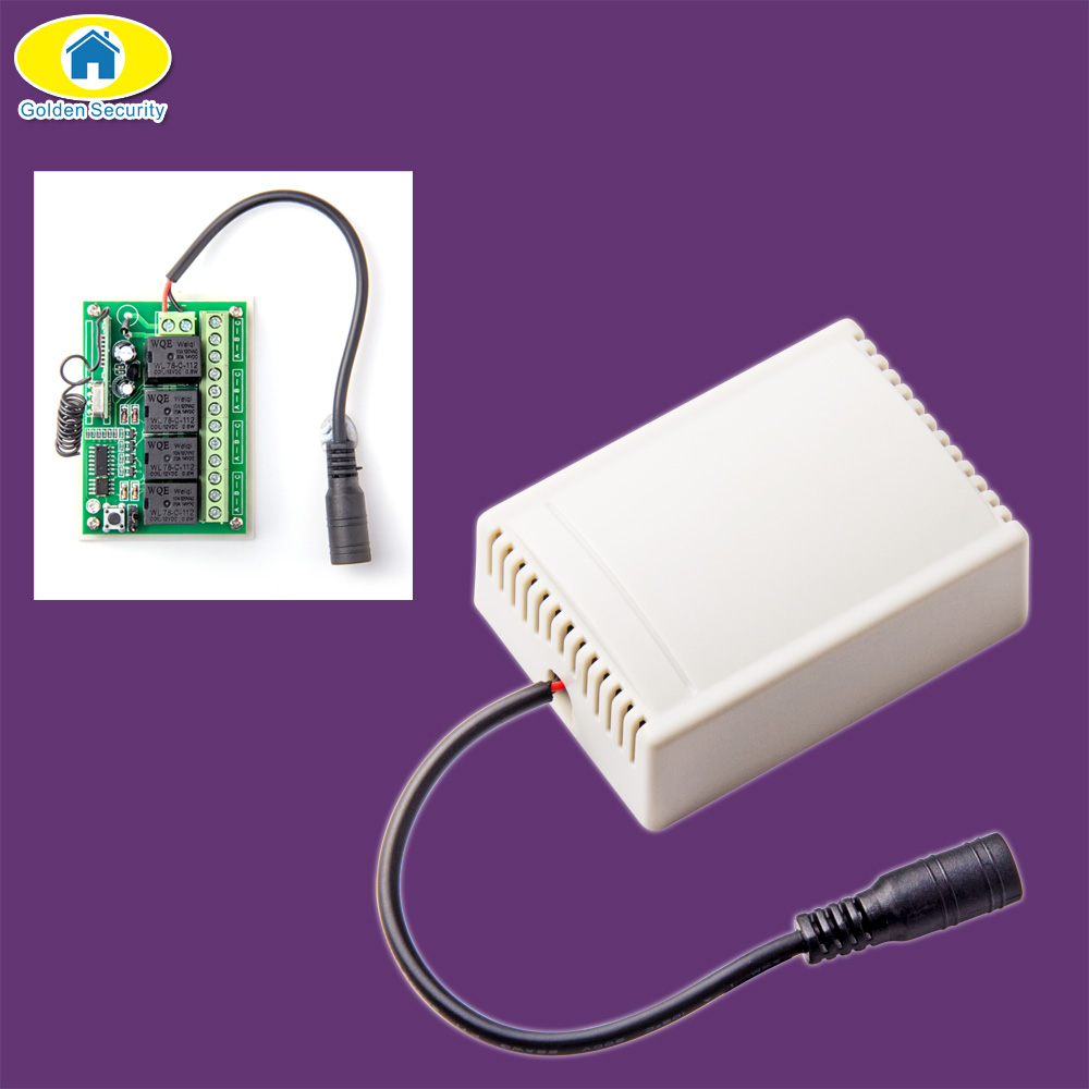 Golden Security Wireless Remote Control Smart 4CH Wireless Relay Output For G90B G90B Plus S2G S2W S1 G90E