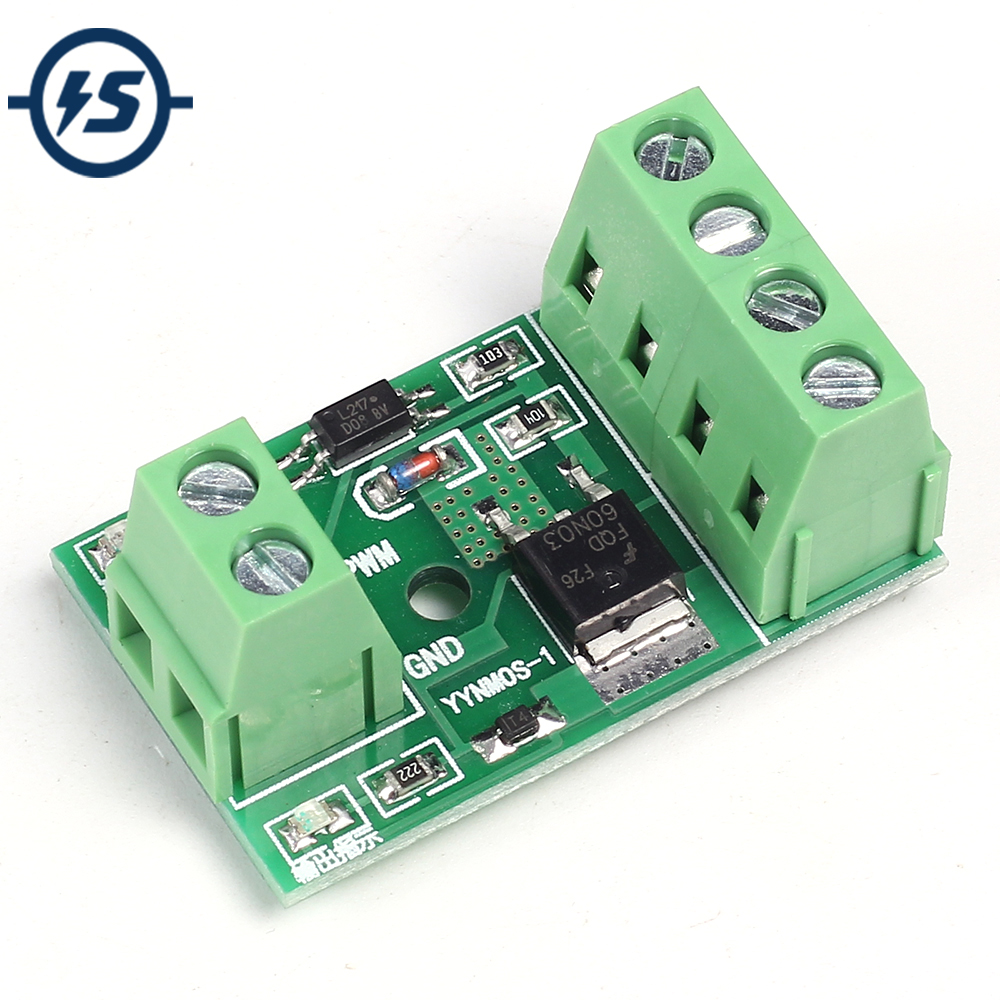 3v 5v Low Control High Voltage 12v 24v 36v Switch Mosfet Module For Circuit Generator With Hex Fet Mos Optocoupler Isolation Driver Field Effect Transistor Trigger Pwm Board 3