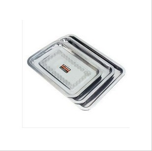 free shipping 30X40cm stainless steel medical use tray medical micro plastic use stainless steel