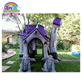 Halloween decorations on sale inflatable haunted house for advertising